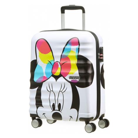 American Tourister Kabinový cestovní kufr Wavebreaker Disney Spinner 36 l - Minnie Close- UP