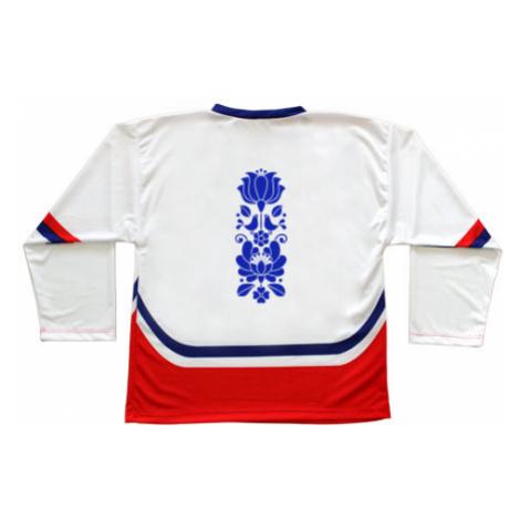Hokejový dres ČR Folklorní motiv cibuláku