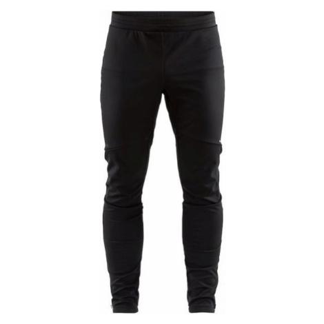 Craft GLIDE černá - Pánské zateplené softshellové kalhoty