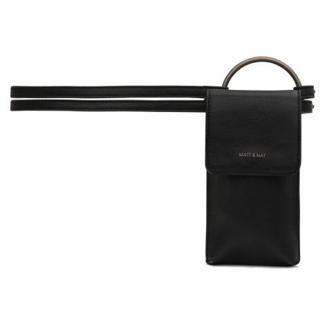 Černý pásek Matt & Nat Lola 74–81 cm