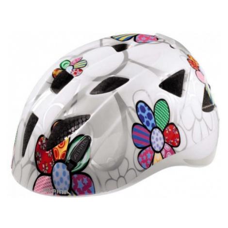 Alpina Sports XIMO FLASH bílá - Dětská cyklistická přilba