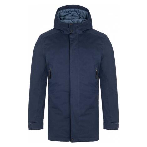 LOAP NAKIO Pánský zimní kabát CLM2049M37I Black Iris / Blue