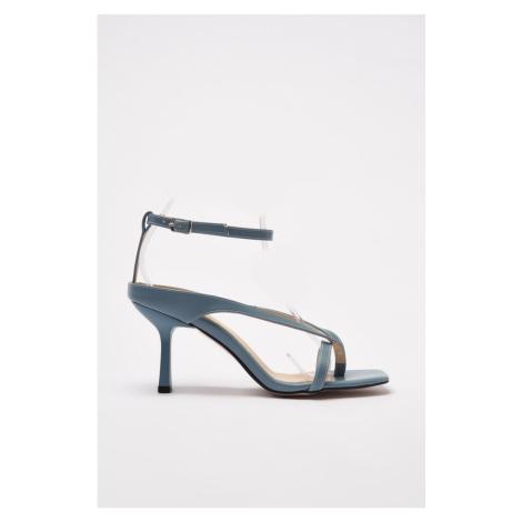 Trendyol Blue Women's Classic Heeled Shoes
