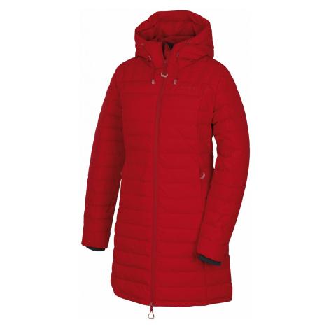 Husky Daili L, červená Dámský péřový kabátek