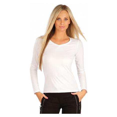 LITEX Tričko dámské s dlouhým rukávem 99596100 Bílá