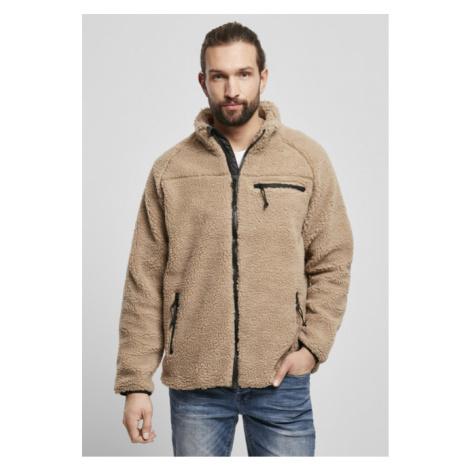 Brandit Teddyfleece Jacket camel