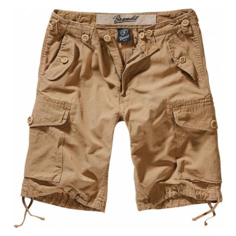 Brandit Kalhoty krátké Hudson RipStop Shorts camel