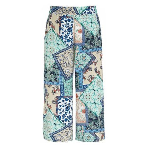Vzorované kalhoty culotte Cellbes