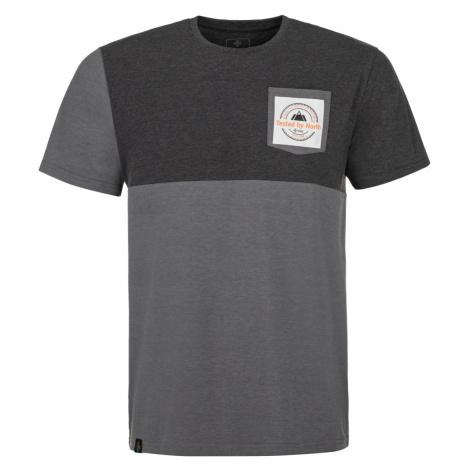 KILPI Pánské triko MELANG-M MM0089KIDGY Tmavě šedá