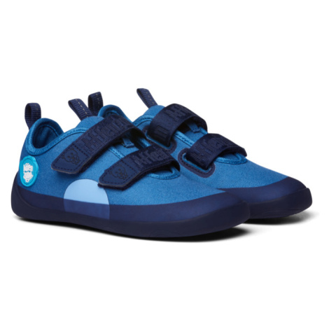 tenisky Affenzahn Cotton Sneakers Bear Blue
