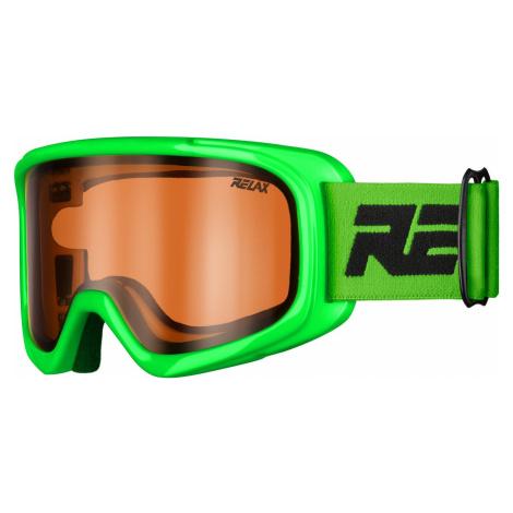 Dětské lyžařské brýle RELAX Bunny zelená