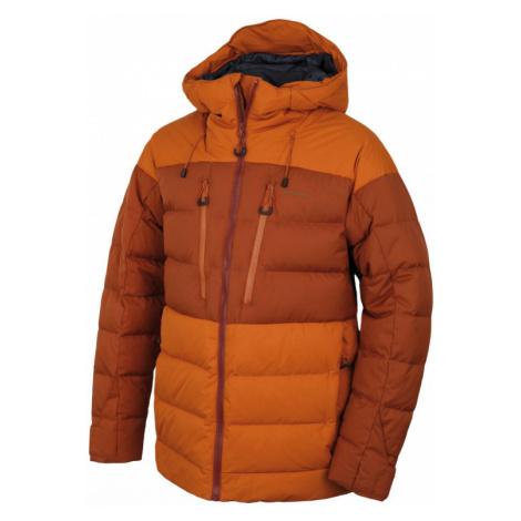 Pánská bunda HUSKY Dester M hnědooranžová / hnědá