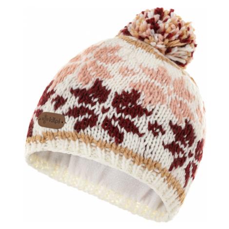 KILPI Dámská zimní čepice HOOT-W NL0068KIWHT Bílá UNI