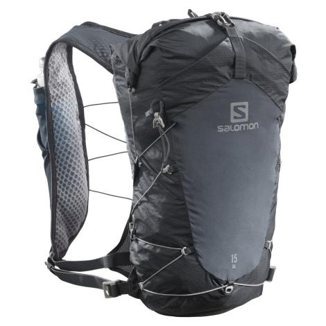 Batoh Salomon XA 15 SET - černá/šedá S/M