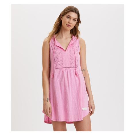 Šaty Odd Molly Artful Dress - Růžová
