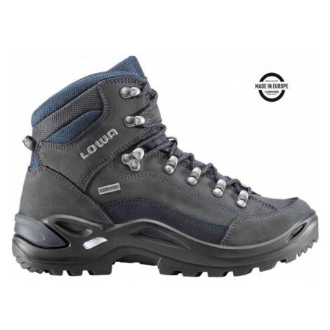 Treková obuv LOWA Renegade GTX Mid lady dark grey/navy UK