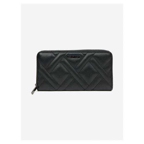 Quilt Large Peněženka Calvin Klein Černá