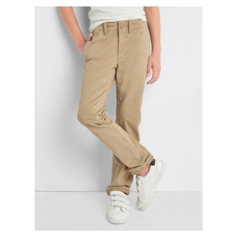 Kalhoty dětské GAP Béžová