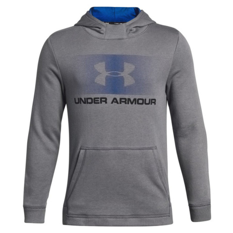 Under Armour Ctn French Terry Hoody Dětská mikina 1306161-040 Graphite