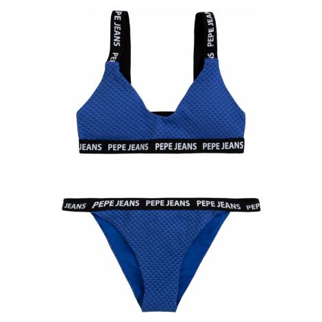 Pepe Jeans Pepe Jeans dámské modré plavky Naomi