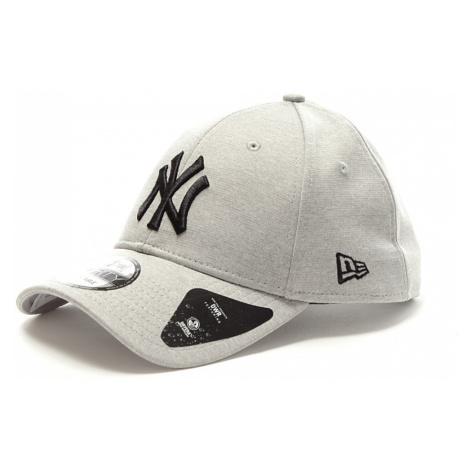 Kšiltovka New Era 940 MLB Shadow světle šedá