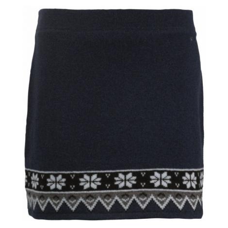 Pletená zimní sukně SKHOOP Scandinavian navy