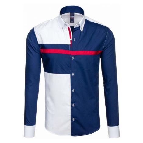 Pánská košile BOLF 5729 bílá