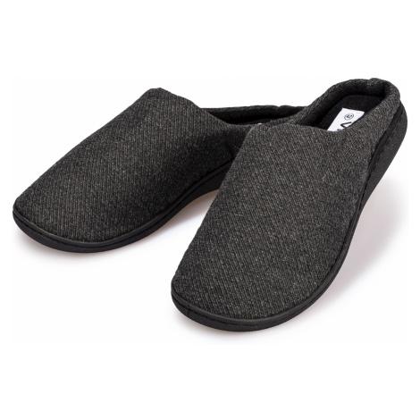 Domácí pantofle pánské černá