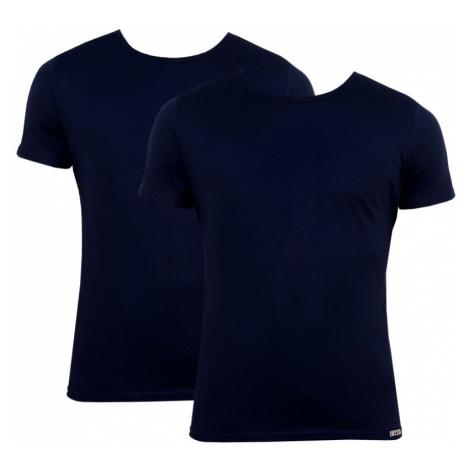 2PACK pánské tričko Styx tmavě modré (TR963)
