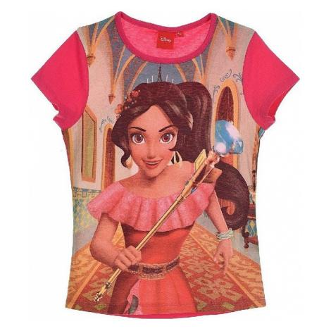 Elena from avalor růžové dívčí tričko s potiskem BASIC