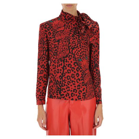 Červená hedvábná košile - RED VALENTINO