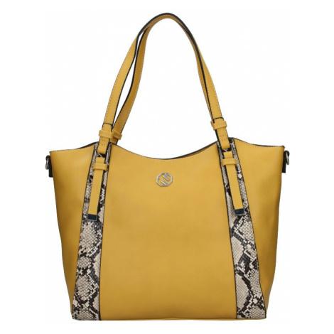 Dámská kabelka Marina Galanti Tiama - žlutá