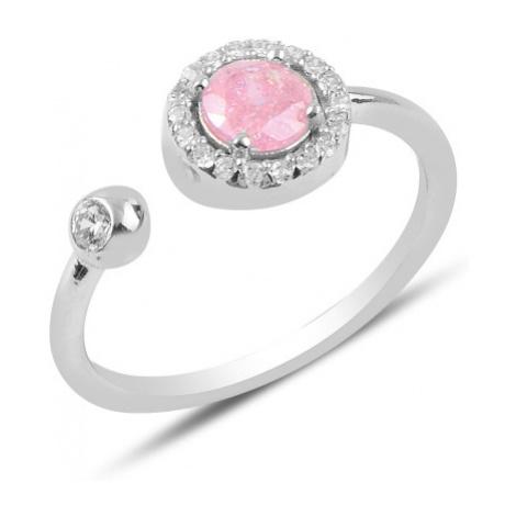 OLIVIE Stříbrný prsten SLADKÁ LÁSKA 3903