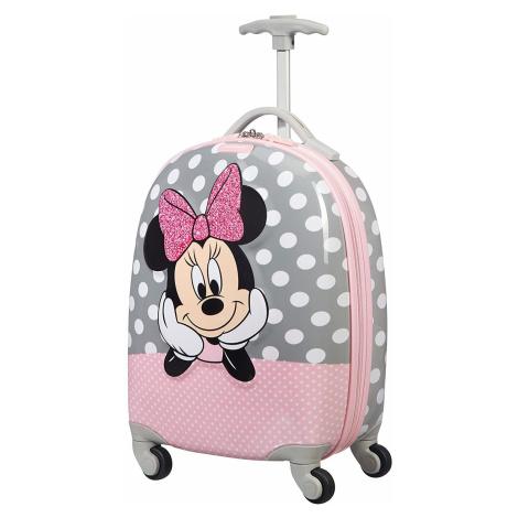 SAMSONITE dětský kufr DISNEY ULTIMATE 2.0 Cabin Minnie Glitter 106711-7064