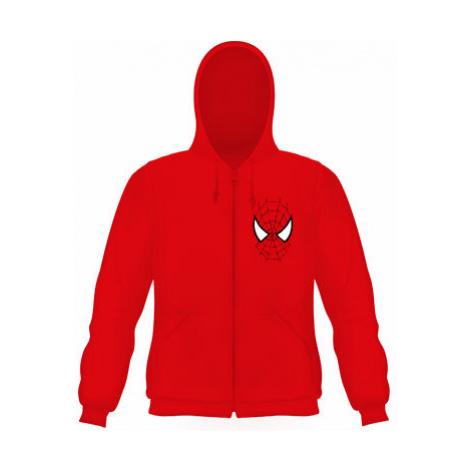 Pánská mikina na zip s kapucí Spiderman