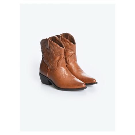 GATE Kovbojské kotníkové boty