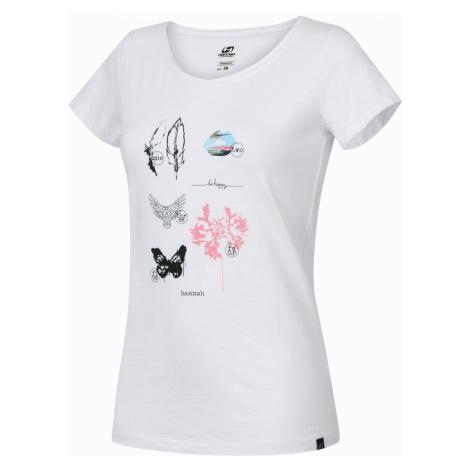 HANNAH KARMELA Dámské tričko 10002027HHX01 Bright white