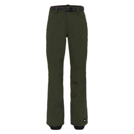 O'Neill PW STAR PANTS tmavě zelená - Dámské lyžařské/snowboardové kalhoty