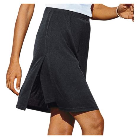 Blancheporte Kalhotová sukně černá