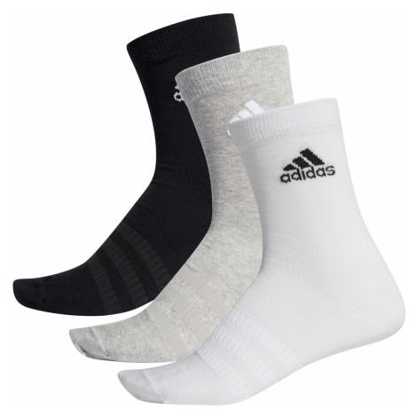 Ponožky adidas Light Crew Šedá / Černá