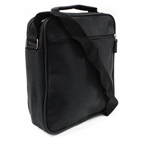 Černá pánská praktická crossbody taška Abdon Tapple