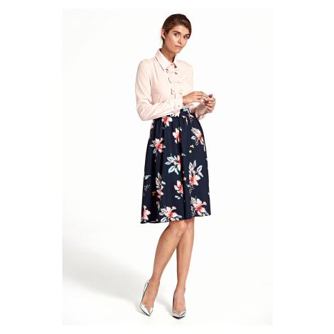 Skládaná sukně s květy NIFE SP40