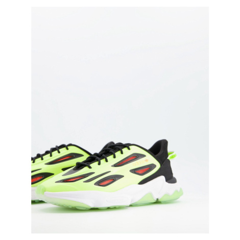Adidas Originals Ozweego Celox trainers in neon-Black