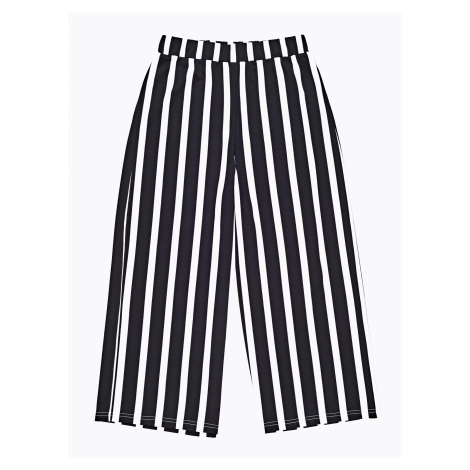 GATE Široké proužkované kalhoty