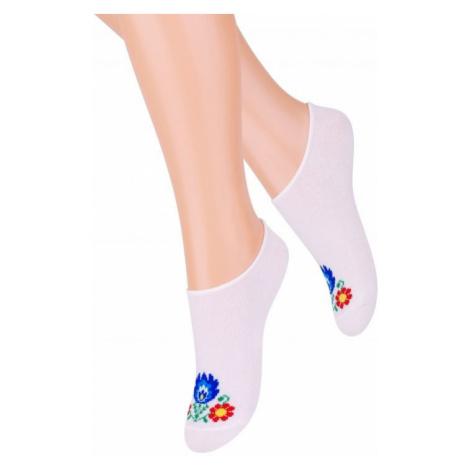 Dámské ponožky Steven Folk art.120