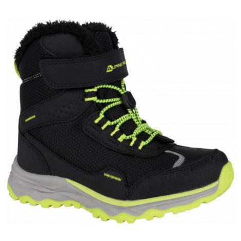 ALPINE PRO VESO šedá - Dětská zimní obuv