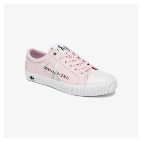 Calvin Klein dámské růžové plátěné boty
