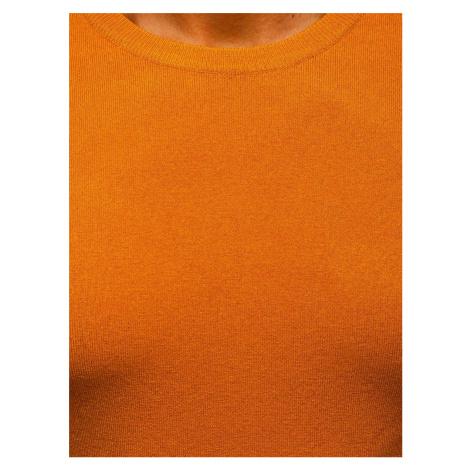 Kamelový pánský svetr Bolf YY01