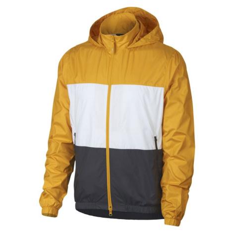 Nike hooded - žlutá - 334058