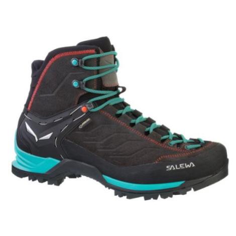 Salewa boty WS MTN Trainer MID GTX, černá/zelená